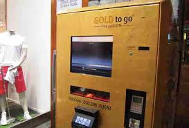 Gold Vending Machine Nyc Classy Unusual Vending Machines Selling Gold Bars Used Underwear Weed
