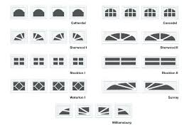 garage door window inserts with traditional design decorative hardware and window inserts