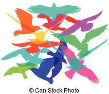 flock of birds clipart. Unique Clipart Flock Of Birds Clip Art  Intended Flock Clipart I