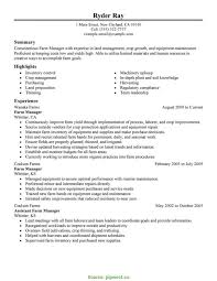 Dairy Farm Manager Sample Resume Top Farm Manager Resume Objective Dairy Farm Manager Resume Sample 1