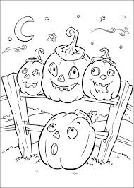 Small Picture Fall Halloween Coloring Page 02 Happy Holidays