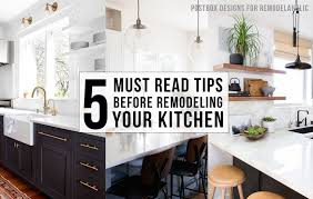 Modern Kitchen Remodel Remodelaholic 5 Must Read Tips Before Remodeling Your Kitchen