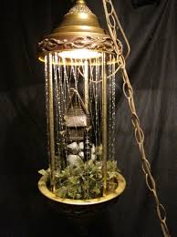 oil would drip down the plastic strings so cool we had a lamp exactly like this