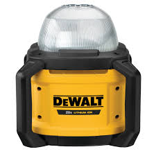 Dewalt Charger Yellow Light Tool Connect 20v Max All Purpose Cordless Work Light Tool Only