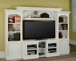 ... Wall Units, Entertainment Shelving Units Wall Mounted Entertainment  Center White Lacqured Tv Cabinet With Open ...