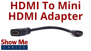 <b>HDMI Female to Mini</b> HDMI Male Adapter #4502 - YouTube
