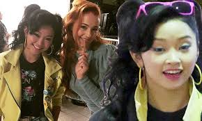 She also worked with deadpool actress taylor hickson on the show. X Men Apocalypse S Lana Condor Makes Her Debut As Jubilee On Set Daily Mail Online