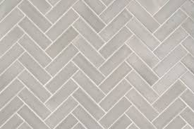 tile pattern. Tile Shown: 2x6 Tiles In Foggy Morning Set A Herringbone Pattern. Pattern