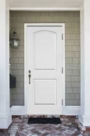 how to paint a metal door white steel entry door