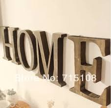 Small Picture Online Buy Wholesale big wood letters from China big wood letters