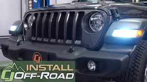 Jeep Jl Led Lights 2018 Jeep Wrangler Jl Diode Dynamics Front Turn Signal Bulb Led Installation
