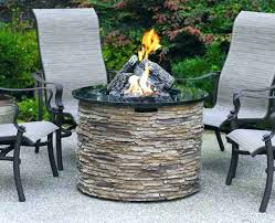 outdoor fire pit target dining table gas small