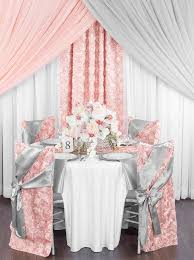 wedding theme silver. Reinventing the Blush Pink and Silver Wedding CV Linens Design Blog