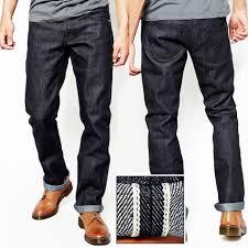 Designer Overalls Denim 2015 Men Raw Selvedge Denim Jeans Pant Skinny Famous Brand