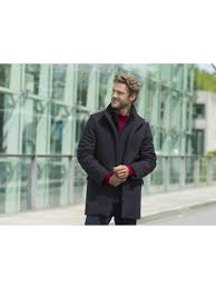 3 4 coat for men calais cashmere quality