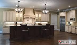 Dark Brown Cabinets With Black Glaze white glazed cabinets houzz