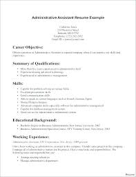 Administrative Resume Templates Office Assistant Resume Example Free