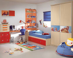 Bedroom Incredible Image Of Light Red Blue Kid Bedroom Decoration