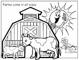 Farm Animal Coloring Pages To Print Color Pages Of Animals Farm