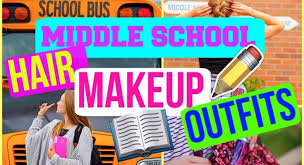 grade 6 7 8 middle hair makeup outfits back to 2016