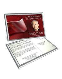 Memorial Announcement Cards Funeral Invitation Card Template Fresh Obituary Samples Jjbuilding
