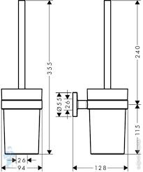 Набор <b>Hansgrohe Logis Universal</b> 3 в 1 (<b>Полотенцедержатель</b>+ ...