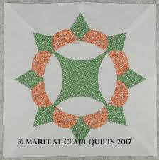 Floral Crown Template Set – 15″ – I Spy – Maree St Clair Quilts