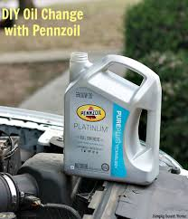 diy oil change with pennzoil simply