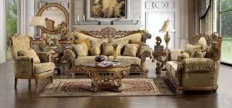 Marana High End Formal Living Room Sofa Set Impressive Design