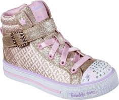 sketchers light up shoes girls. skechers twinkle toes shuffles charm high top (girls\u0027) sketchers light up shoes girls