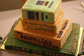 Unique Wedding Cakes Stack Of Books Wedding Cake