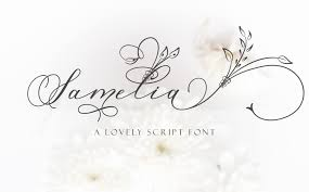Script Designs Samelia Lovely Script Font By Mdr Designs Thehungryjpeg Com
