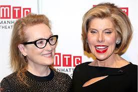 christine baranski.  Christine Meryl Streep Salutes Christine Baranski At Manhattan Theater Clubu0027s Fall  Benefit  EWcom And