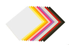 A9 Card Blank Vibrant Colored A9 Sized Card Stock For Diy Invitations