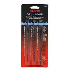scroll saw blades. olson saw fr49400 skip tooth scroll blade assortment - knew amazon.com blades