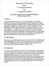 Memorandum Of Understanding Template Impressive Memorandum Of Understanding Template Download Free Documents Uk