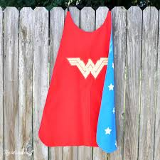 Childs Cape Pattern Gorgeous Sew A Wonder Woman Cape Cut Files For New Wonder Woman Logo