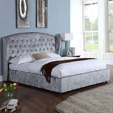 For; Some Of Our Crushed Velvet Beds Now Available With Free Next Day  Delivery!