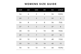 Size Guide Res Denim