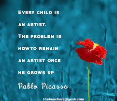 Pablo Picasso Quotes Gorgeous Quote Of The Day Pablo Picasso The Teachers Digest