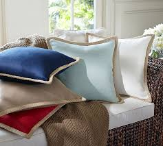 Pottery Barn Jute Braid Pillow Cover