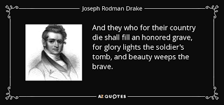 Drake Beauty Quotes Best of TOP 24 QUOTES BY JOSEPH RODMAN DRAKE AZ Quotes