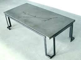 making a concrete table concrete top coffee table making a concrete table top cement table tops making a concrete table