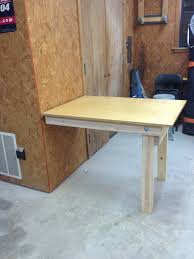 beautiful diy f down workbench wilker f down wall table diy home furniture ideas in fold