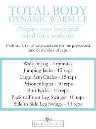 don t skip the warm up before you workout it s important that you