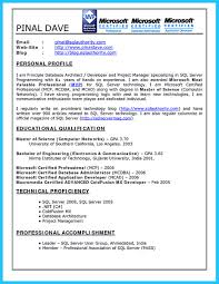 Pl Sql Resume Free Resume Example And Writing Download