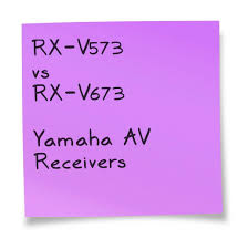 Yamaha Rx V573 Vs Rx V673 Av Receivers Comparison Yamaha