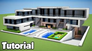 Alyssachia Minecraft How To Build Large Modern House Tutorial 2018 Youtube Minecraft How To Build Large Modern House Tutorial 2018 Youtube