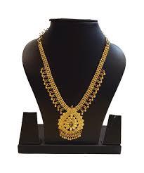 Gold New Model Necklace Design Gold Plated Designer Necklace