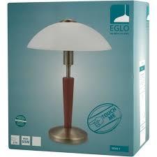 <b>Настольная лампа Eglo</b> «Solo 1» с сенсором и диммером ...